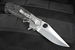 Exclusive Dress Crawford Kasper - Marble Carbon Fiber and Damascus Flipper