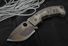 Crusader Apex XL Phantom Flamed Tactical Folder
