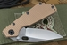 Duane Dwyer Custom SMF Bowie Blade - Tactical Folding Knife