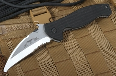 Emerson SARK SFS Partial Serrations Search and Rescue Knife