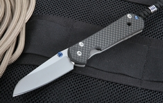 Exclusive Chris Reeve Small Sebenza 21 Carbon Fiber  - Insingo Blade