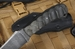 Exclusive Winkler Damascus Belt Knife - Sculpted Micarta
