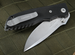 Fantoni HB 01 Black Tactical Folding Knife