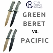 Chris Reeve: Green Beret vs. Pacific Knife Review Article