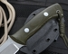 KnifeArt.com OD Green Quick Draw Fixed Blade Knife