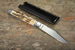 Hiroaki Ohta Fluted Mammoth Gents Folding Knife