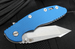 "Hinderer Knives XM-18 3.5"" FATTY Edition Harpoon - Blue"