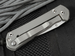 Chris Reeve Small Sebenza 21 CGG Think Twice Code