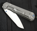 Chris Reeve Small Sebenza 21 Insingo Folding Knife - Left Handed