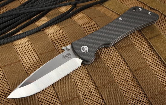 Southern Grind - Bad Monkey Drop Point - Satin and Carbon Fiber