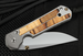 Chris Reeve Small Sebenza 21 Spalted Beech Folding Knife with S35VN Steel