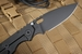 Strider SMF Black Cerakote Tactical Folding Knife