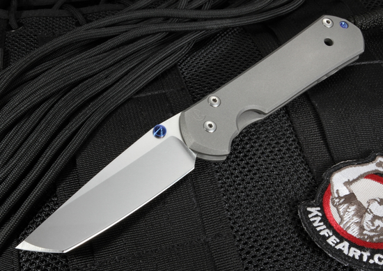 Chris Reeve Small Sebenza 21 Tanto Blade - S35VN Steel - Folding Knife