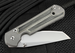 Chris Reeve Small Sebenza 21 Black Micarta Inlay Tanto Folding Knife