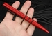 Tuff Writer Frontline Series - Rescue Red Shorty Length Tactical Pen
