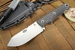 "White River Firecraft 4"" - 3V Steel - Carbon Fiber Survival Knife"