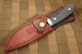 White River Sendero Classic - Black Micarta - Jerry Fisk Design