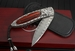 William Henry B05 Sovereign - Damascus and Silver Folding Knife