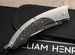 William Henry B11 Shadow - Carbon Fiber and Wave Damascus Folding Knife