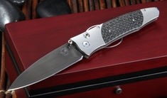 William Henry B30 Blackbird Gentac - Carbon Fiber Knife with ZDP-189 Steel