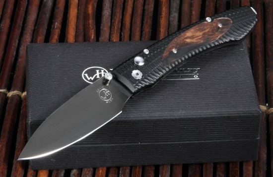 William Henry E6-10 EDC Signature Wood Folding Knife