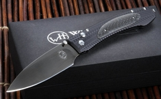 William Henry EDC E10-3 Carbon Fiber Inlay Folding Knife