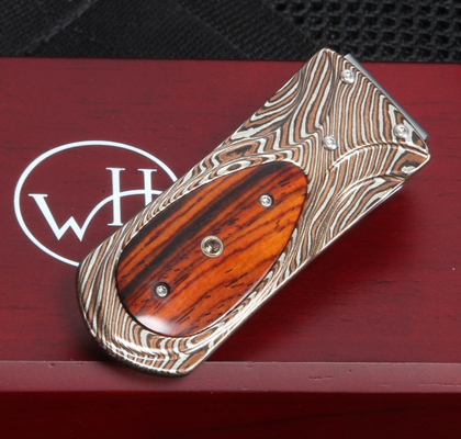 William Henry M3 Panama - Mokume Money Clip