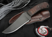 Exclusive Winkler Belt Knife -DONT TREAD ON ME Edition - Caswell and Maple