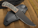 Winkler Belt Knife - Caswell and Wasp Pattern Micarta