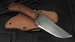 Winkler Blue Ridge Hunter - Caswell and Maple - Leather Sheath