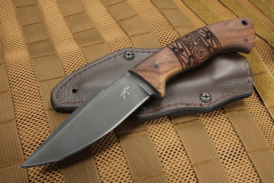 Winkler Knives - Pathfinder Tribal Walnut - Jason Knight Design