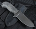 Winkler Utility Knife - Caswell Finish - Rubber Handle