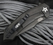 Zero Tolerance 0095S90BLK Flipper - S90V Blade - Black DLC