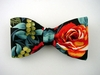 "Bow Tie ""Maui Rose"" B2002PL - black"