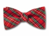 "Bow Tie ""Christmas Plaid"""