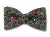 "Bow Tie ""Christmas Wreath"" CH1022"