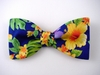"Bow Ties ""Pua Aloalo"" B2004a-royal blue"