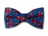 "Bow Tie""Hawaiian Flowers"" - Hibiscus Print Bowtie - Men's Accessories"