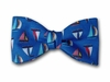 "Bow Tie ""Sailboats""- Nautical Men's Bow Tie"