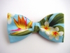 "Bow Tie ""Bird of Paradise""-Tropical Flower Bow Tie-Hawaiian Men's Accessory"
