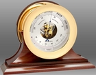 "Chelsea Ship's Bell 6"" Aneroid Barometer"