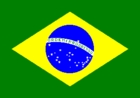 Courtesy Flag Brazil