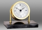 Chelsea Chatham Desk Clock with Black Marble Base