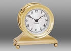 Chelsea Constitution Clock in Brass