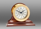 Chelsea Polaris 12/24 Hour Clock on Traditional Base 4.5 Inch
