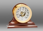 Chelsea Brass Ship's Bell Barometer on Traditional Base 4.5 Inch