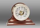 Chelsea Nickel Ship's Bell Barometer on Traditional Base 4.5 Inch