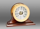 Chelsea Brass Ship's Bell Barometer on Traditional Base 6 Inch