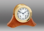 Chelsea Brass Ship's Bell Clock on Moser Base 4.5 Inch