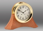 Chelsea Brass Ship's Bell Clock on Moser Base 8.5 Inch